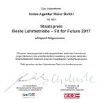 Immo-Agentur-Lehrlinge FIT FOR FUTURE!